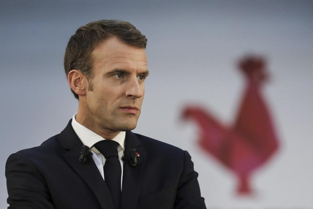 Frankrikes president Emmanuel Macron kommenterte fredag Khashoggi-saken for første gang. Presset mot Saudi-Arabia for å forklare hva som skjedde med journalisten etter at han gikk i landets konsulat i Istanbul, øker. Bildet er tatt tidligere denne uken. Foto: Ludovic Marin / AP / NTB scanpix
