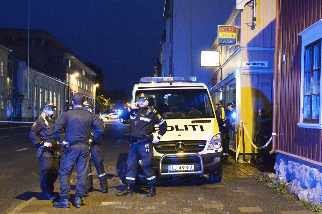 Dobbeltdrapet skjedde i en leilighet i Prinsens gate i Trondheim sentrum. Foto: Ned Alley / NTB scanpix