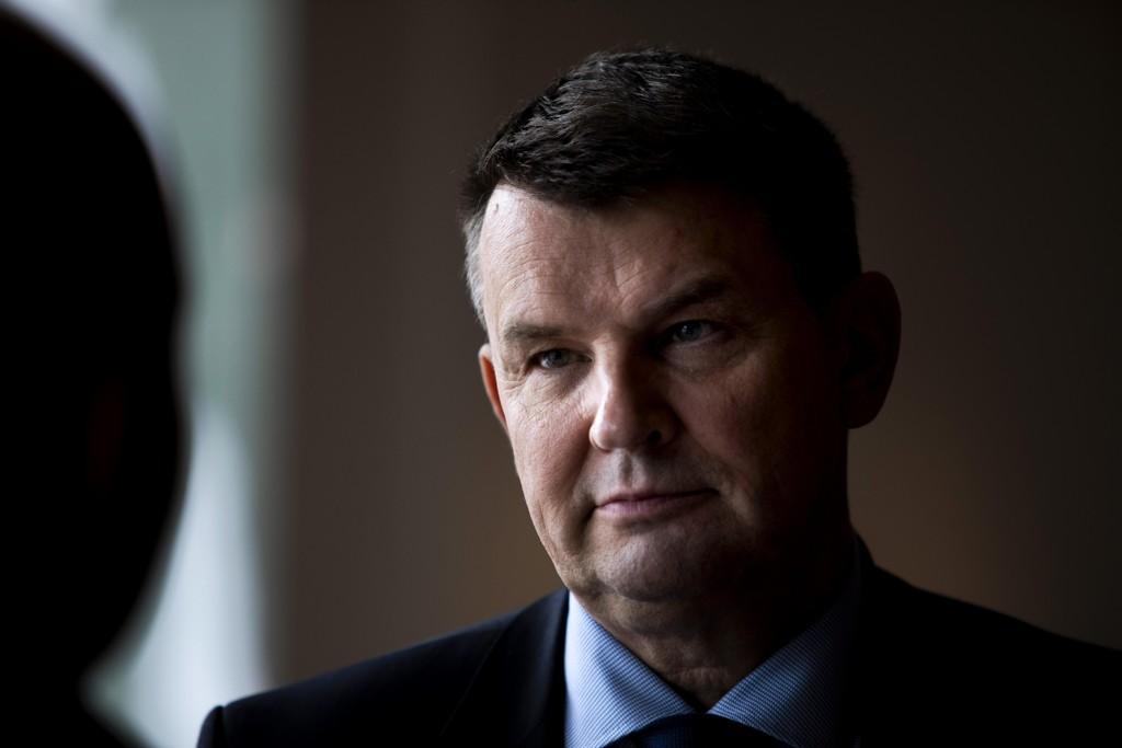 Justisminister Tor Mikkel Wara fra Frp setter ned et utvalg som skal granske partnerdrap i Norge. Foto: Tore Meek / NTB scanpix
