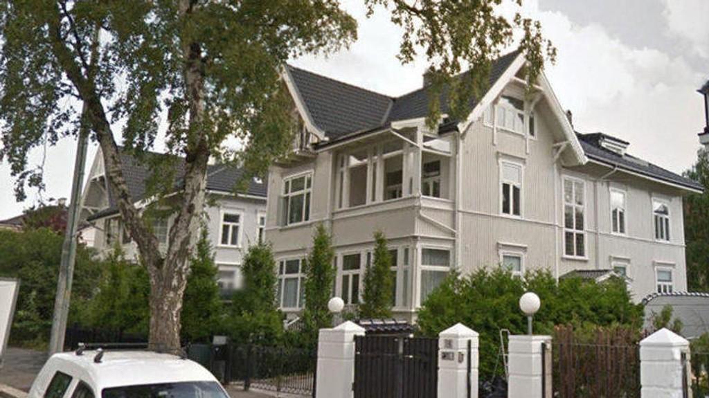 VILLA: Deler av denne villaen er lagt ut for nærmere 40 millioner kroner.