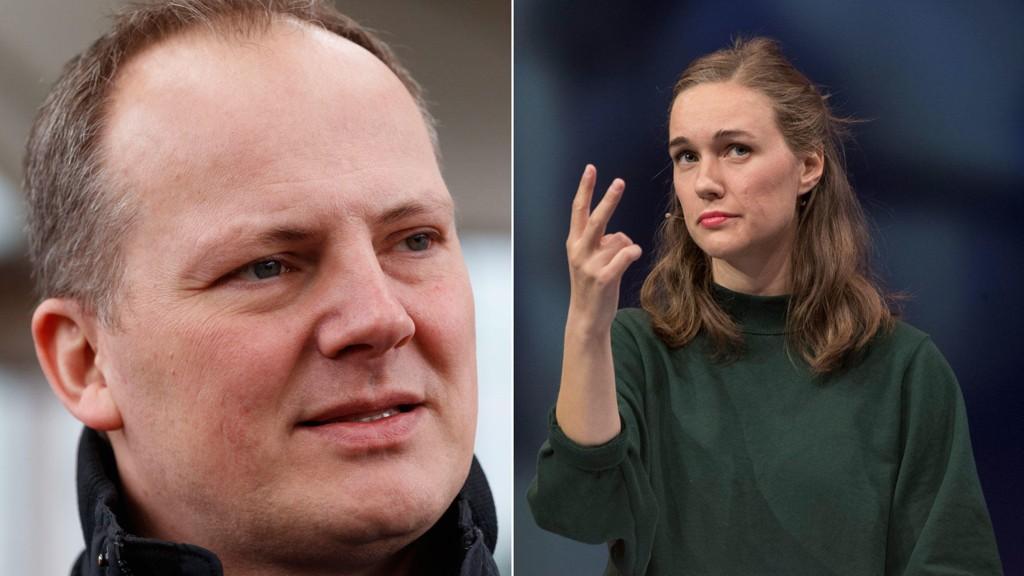 TIL ANGREP: Frps 2. nestleder Ketil Solvik-Olsen reagerer kraftig på påtroppende AUF-lederIna Rangønes Libak og ungdomspartiets vedtak om å avvikle petroleumsindustrien.