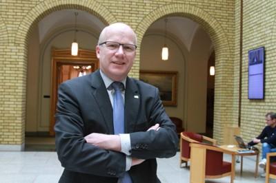 Høyre-politiker og medlem av justiskomiteen på Stortinget Hårek Elvenes. Farid Ighoubah / Nettavisen