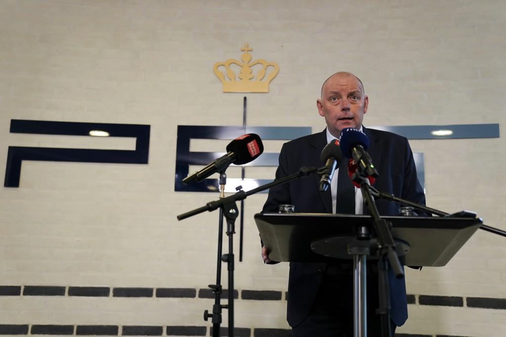 Lederen for Politiets Efteretningtjeneste (PET) i Danmark, Finn Borch Andersen, opplyste tirsdag at en  norskiraner er pågrepet for å ha drevet etterretning for Iran. Foto: Martin Sylvest/Ritzau NTB scanpix / NTB scanpix