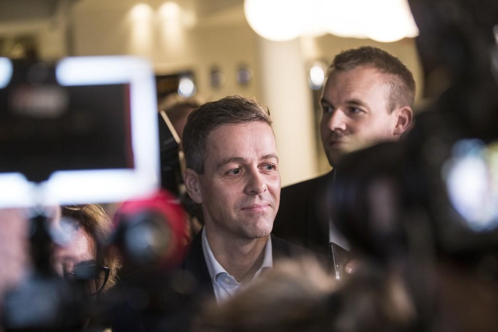 FORTSATT LEDER: KrF-leder Knut Arild Hareide er valgt som leder for Kristelig Folkeparti frem til neste landsmøte i 2020. Dagens skjebnemøte handler ikke om han, men om landets fremtid.