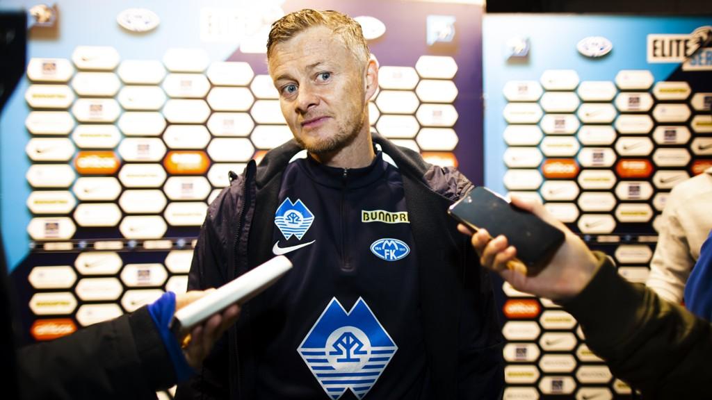 SPRINGBRETT: Ole Gunnar Solskjær sier Molde er en fin mellomstasjon for spillere som ønsker å ta steget ut av norsk fotball til fordel for større ligaer.