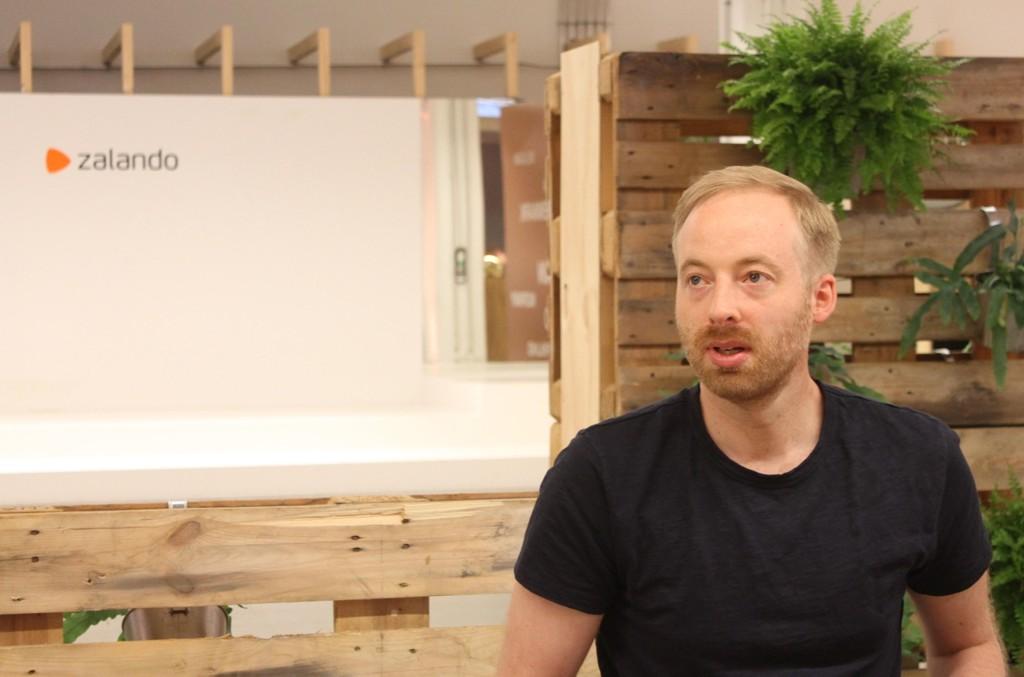 MEDSJEF: Rubin Ritter er en av tre toppsjefer i Zalando.
