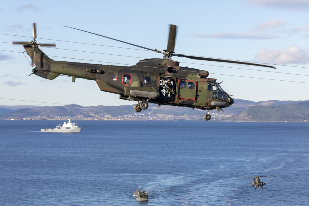 PST bekrefter at innrapportering av spionasjevirksomhet har økt under NATO-øvelsen Trident Juncture. Foto: Gorm Kallestad / NTB scanpix