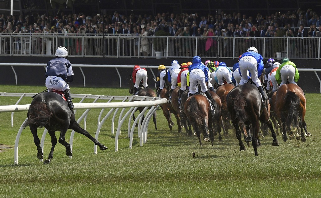 The Cliffsofmoher missed an error, suffered a break injury in this case and had to be killed during the classic Melbourne Cup horse race. Animal welfare organizations reacted loudly. Photo: Andy Brownbill, AP / NTB scanpix