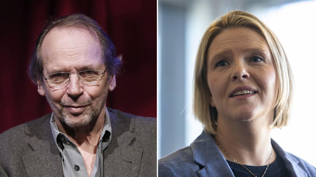 STRIDES: Ole Paus og Sylvi Listhaug er i full krangel etter at førstnevnte skal ha hudflettet flere FrP-politikere på en konsert i Bergen domkirke.