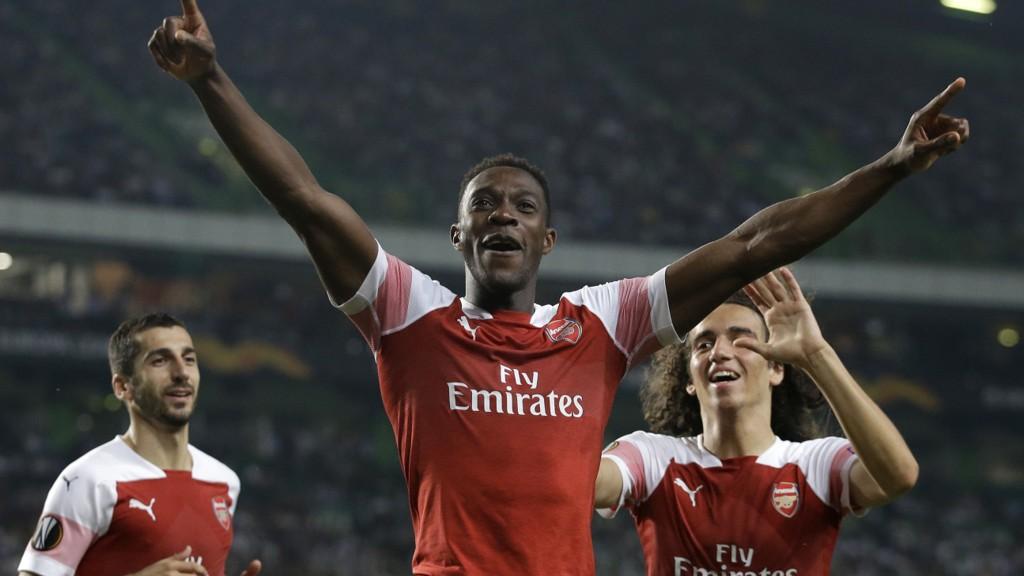 Danny Welbeck scoret seiersmålet for Arsenal i 1-0 seieren borte mot Sporting Lisboa for 14 dager siden.
