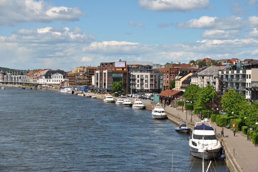 TRYGDETOPPEN: Østfold har flest på uføretrygd. Her fra Fredrikstad.