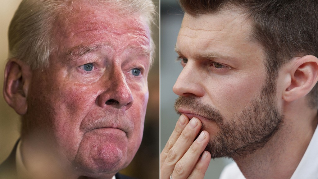 FÅR KRITIKK: Rødt-leder Bjørnar Moxnes harselerte med at Carl I. Hagen trengte ny hjerne og advarte KrF «om en sant helvete» i en tale