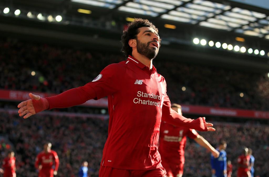 REAGERTE: Mohamed Salah har fått med seg at det har blitt laget en statue av ham i hjemlandet, Egypt.