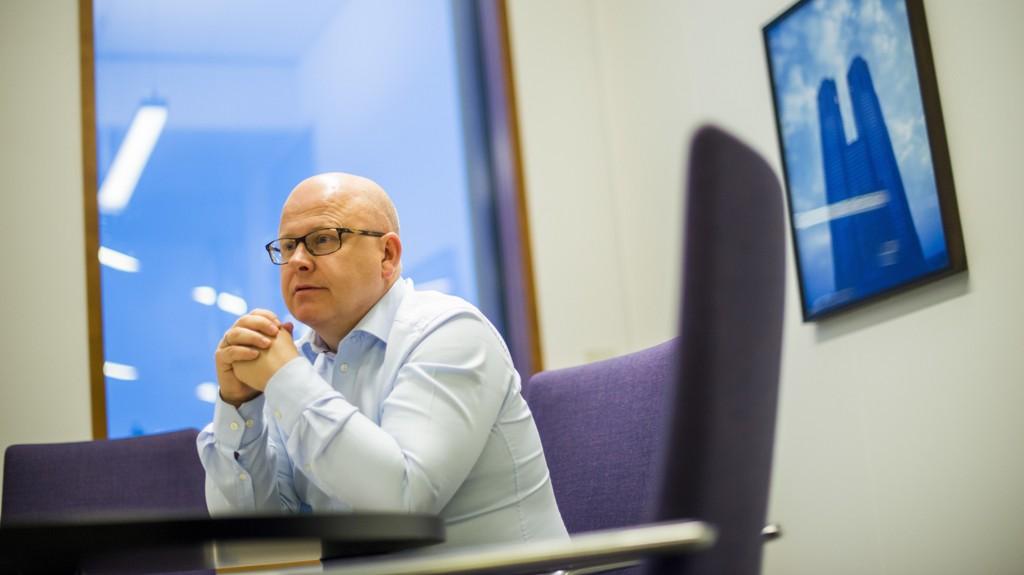 HAR TROA: Baard Schumann tror boligprisen i Oslo vil vokse med minst ti prosent i 2020.