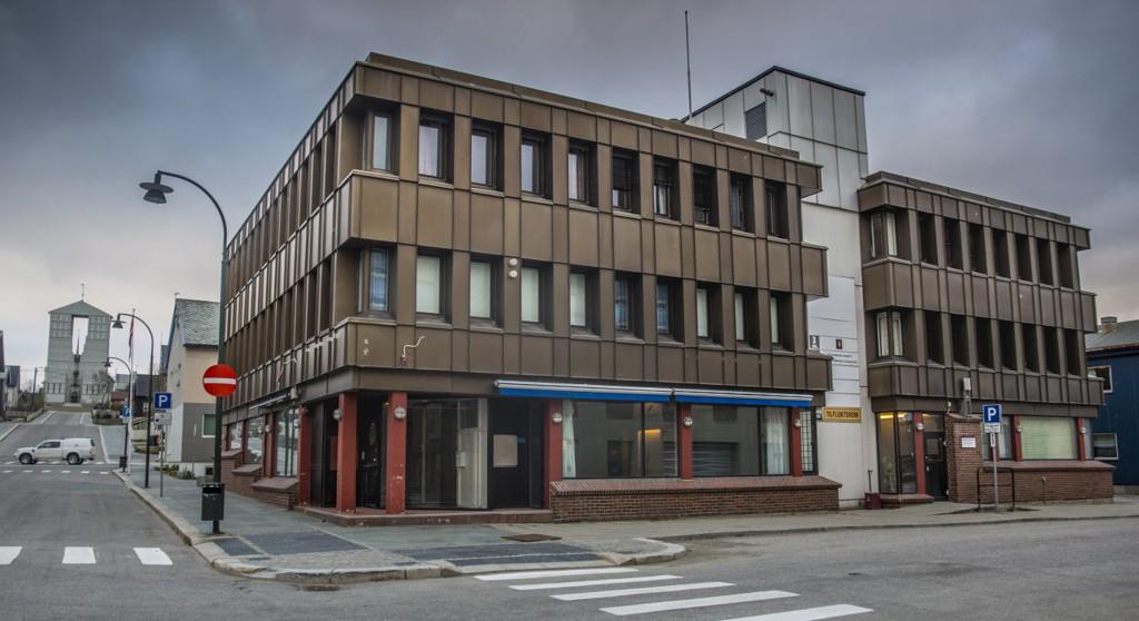 Rettssaken gikk for lukkede dører her i Øst-Finnmark tingrett i Vadsø. Foto: Jan-Morten Bjørnbakk / NTB scanpix