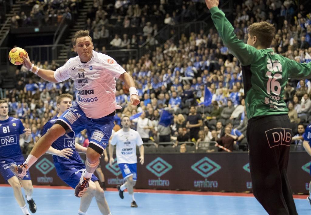 Joakim André Hykkerud og Drammen har en tøff oppgave denne fredagen når ØIF Arendal komer på besøk i Drammenshallen.