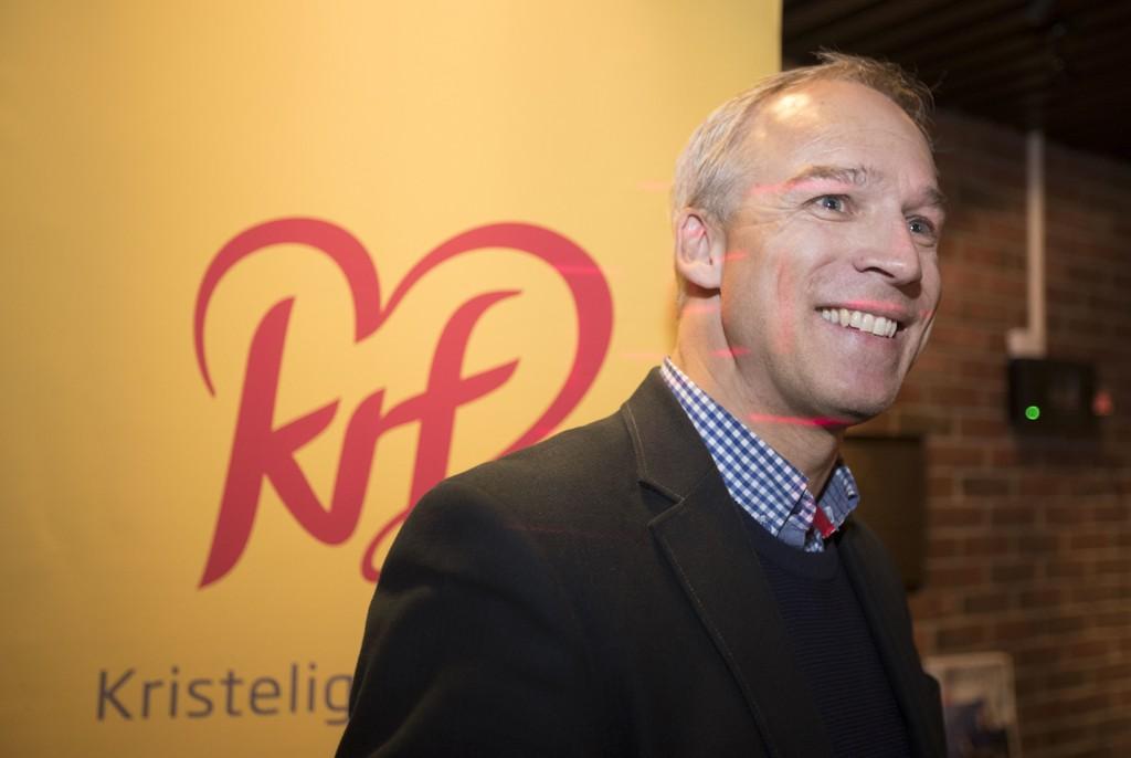 Hans Olav Syversen er ifølge VG hyret inn av nestleder Kjell Ingolf Ropstad i KrF for å lede KrFs sekretariat under forhandlingene med regjeringen. Foto: Terje Pedersen / NTB scanpix