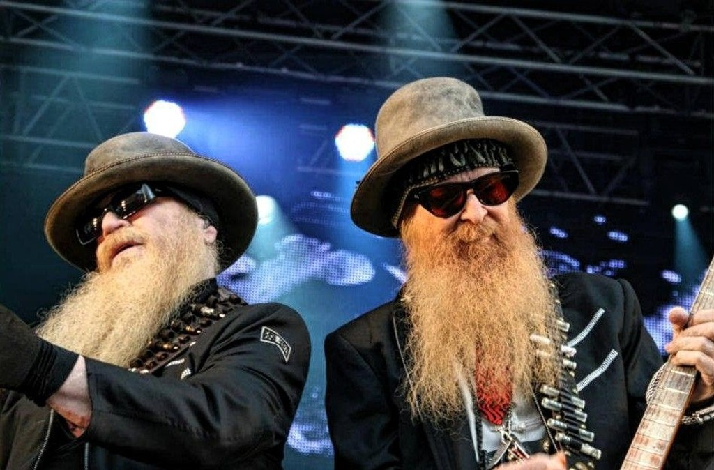ZZ Top på Notodden Blues Festival 2012