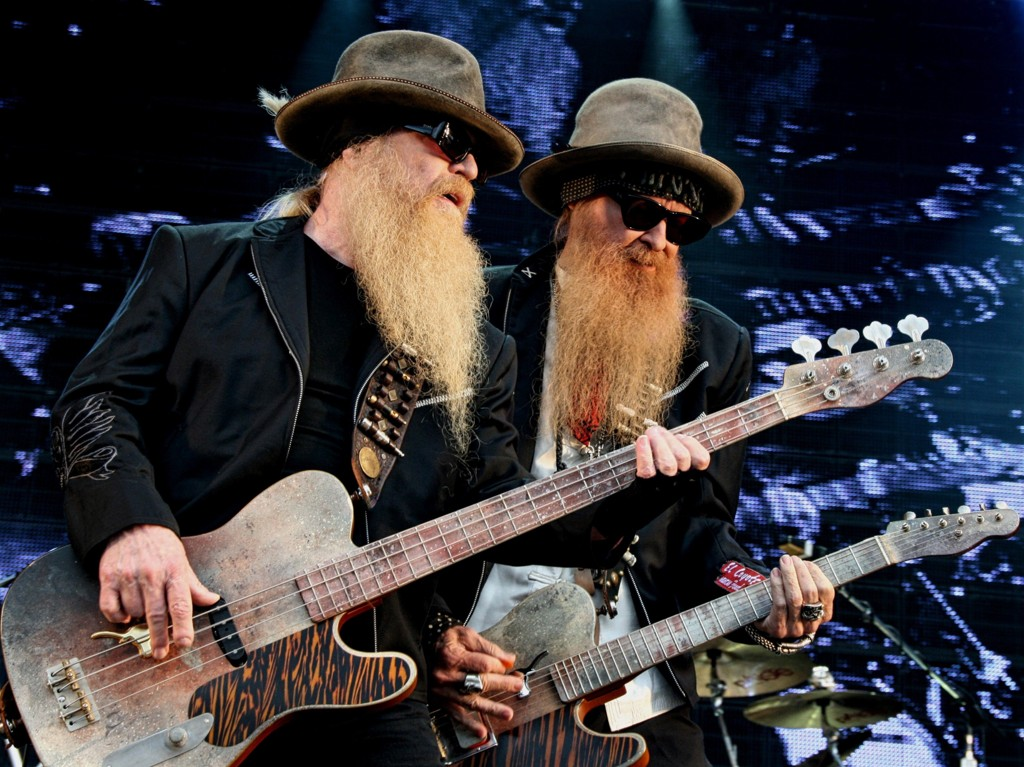 ZZ Top på Notodden Blues Festival 2012