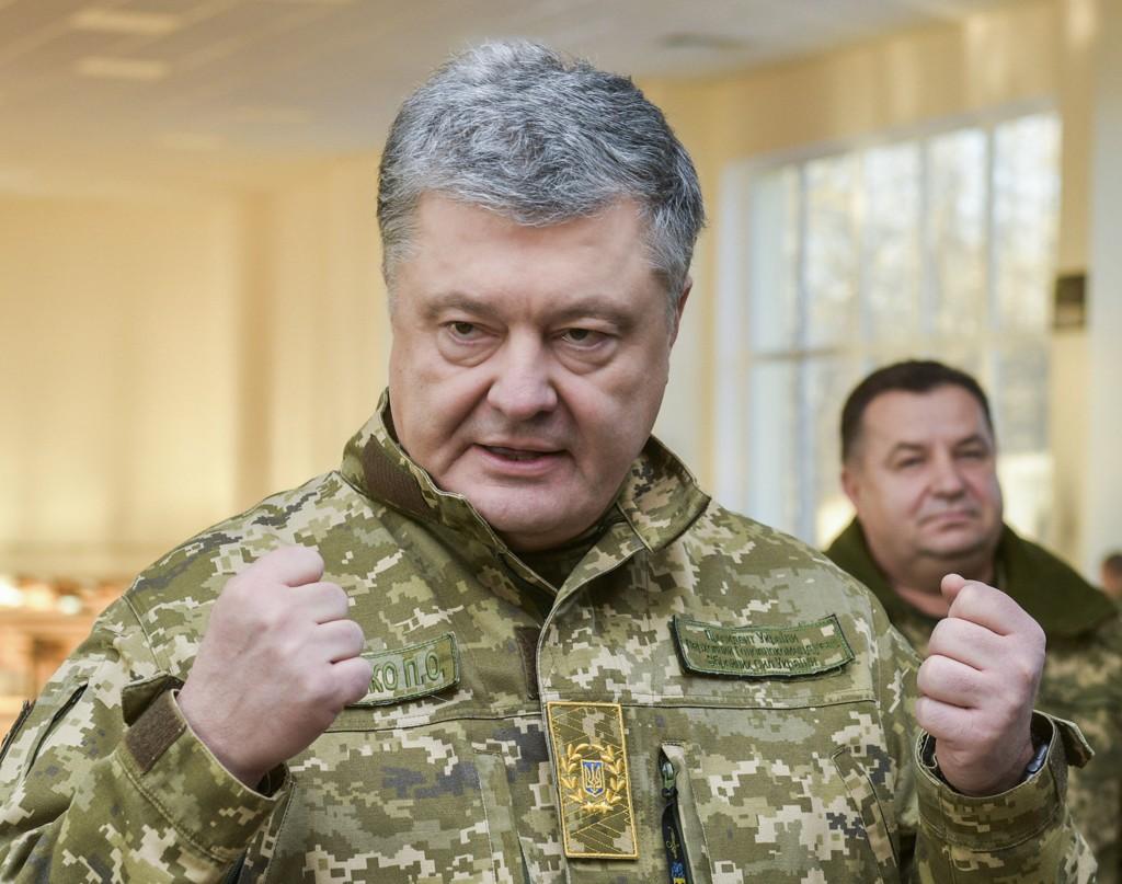 I et intervju med den tyske avisen Bild 28.11.18 ber Ukrainas president Petro Porosjenko NATO-landene om hjelp.