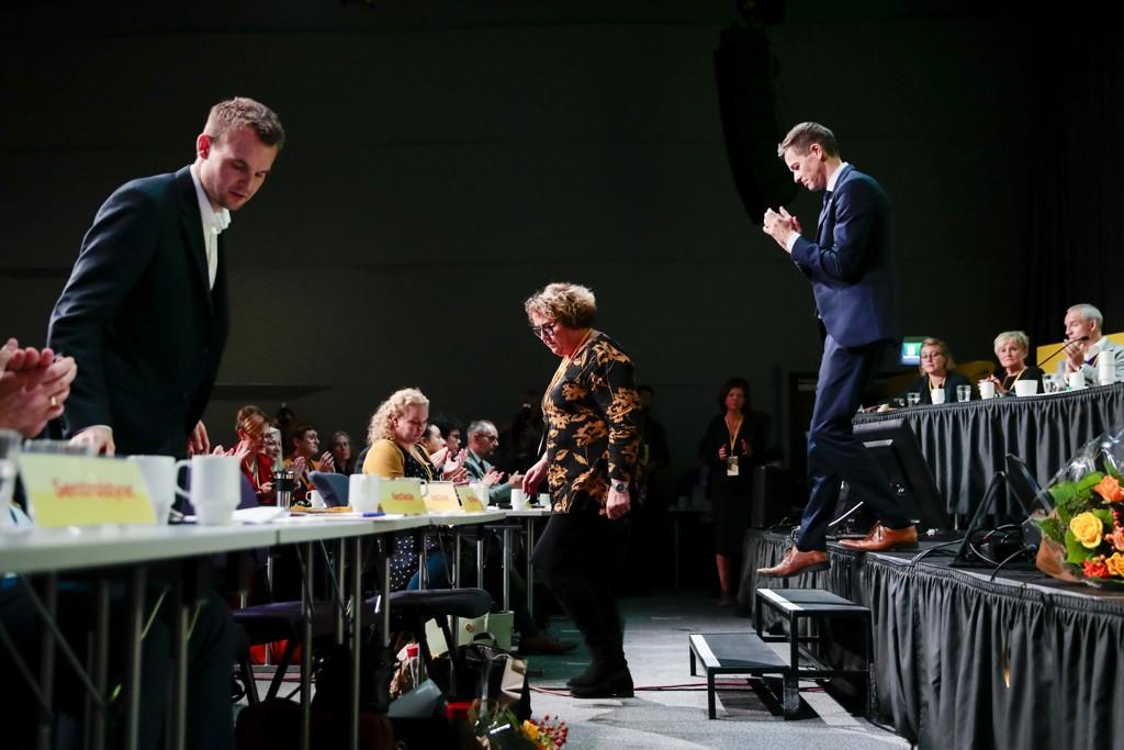 KrFs ekstraordinære landsmøte på Gardermoen 2. november skapte politisk dramatikk og har også fått æren av å stå bak årets ord 2018. Foto: Håkon Mosvold Larsen / NTB scanpix