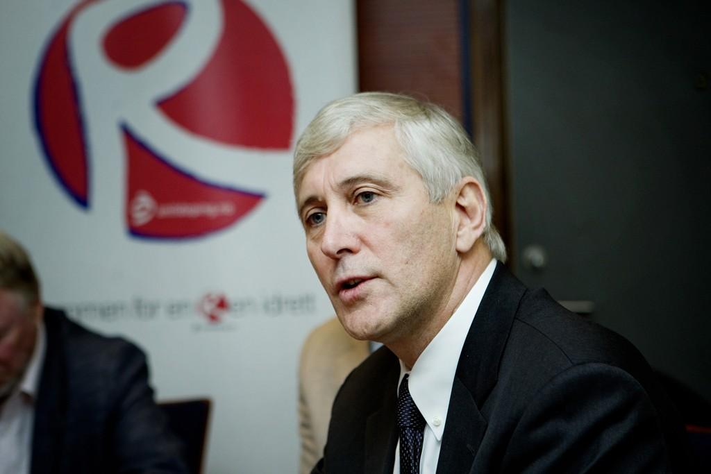 Rune Andersen, sjefen for IAAFs spesialgruppe i Russland-saken. Foto: Jon-Michael Josefsen / Scanpix