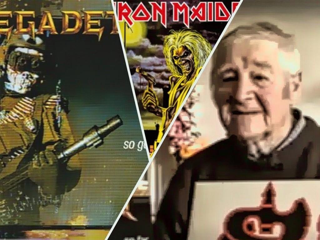 """Albumcover Megadeth """"So Far, So Good... So What!"""" og Iron Maiden """"Killers"""""""