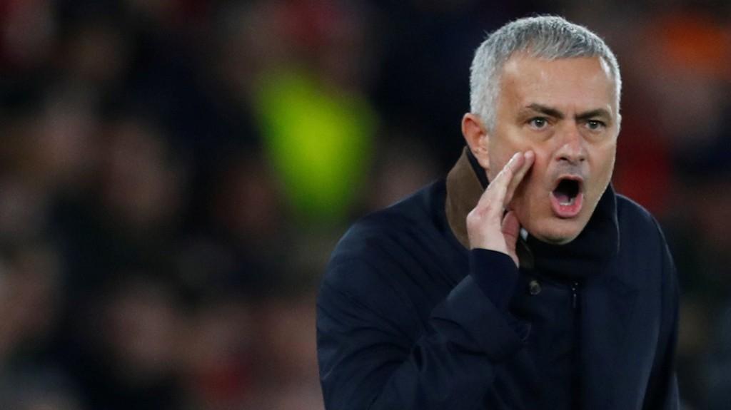 HISSIG: Jose Mourinho var hissig under tirsdagens pressekonferanse.