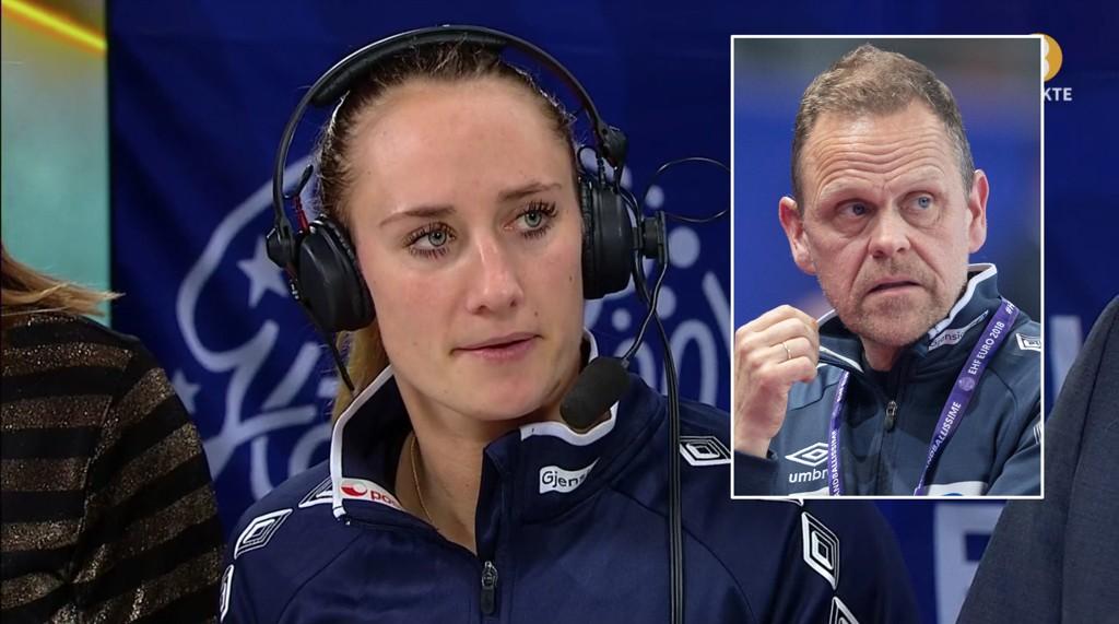 TENTE TIL: Landslagssjef Thorir Hergeirsson tente til da han før mesterskapet ble konfrontert med muligheten om å bytte spillere inn og ut av EM-troppen. Likevel ble han raskt tvunget til å gjøre nettopp det, da Camilla Herrem erstattet Thea Mørk etter Tsjekkia-kampen.