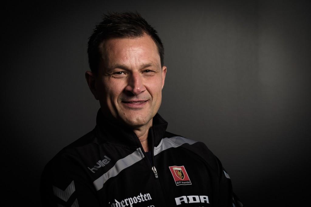 GOD FORM: ØIF Arendals trener Marinko Kurtovic så sitt lag ta seg nok en seier.