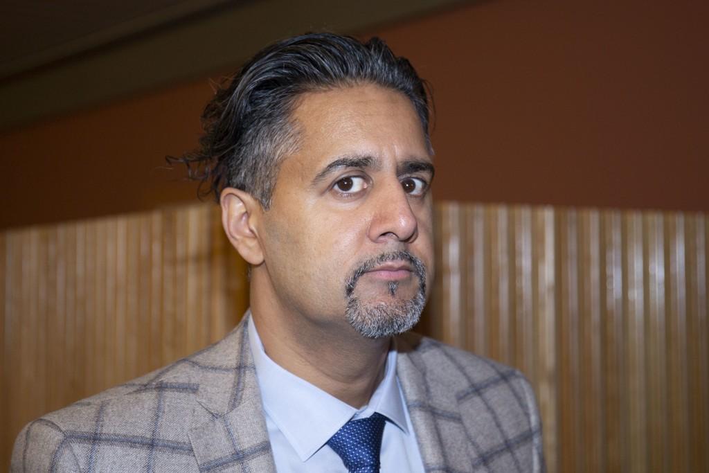 Abid Raja under budsjettforhandlingene tidligere i år. Han har vært sykmeldt siden i forrige uke. Arkivfoto: Fredrik Hagen / NTB scanpix