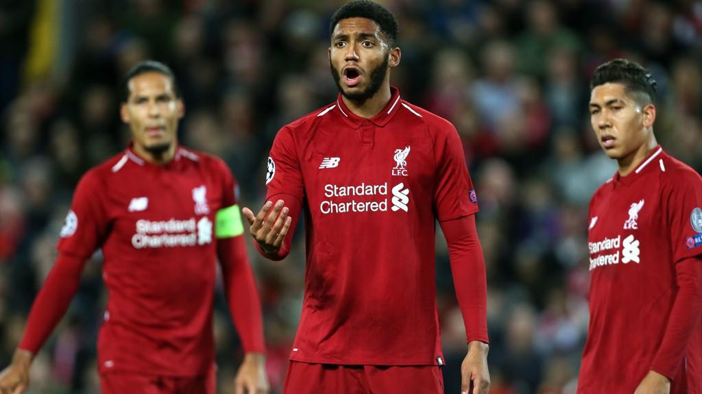 BRUDD: Joe Gomez har pådratt seg et brudd i nedre del av sitt venstre bein, bekrefter Liverpool.