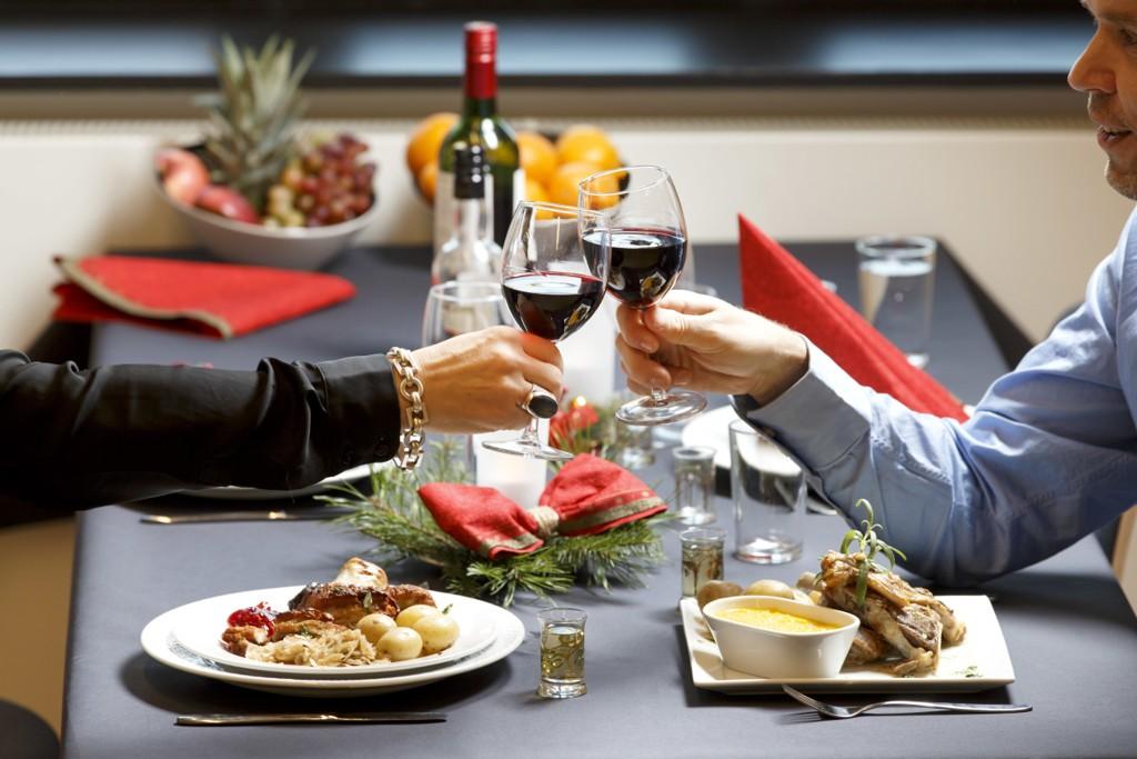 Mange restauranter gikk glipp av julebordsesongen på grunn av konkurs. Foto: Gorm Kallestad / NTB scanpix