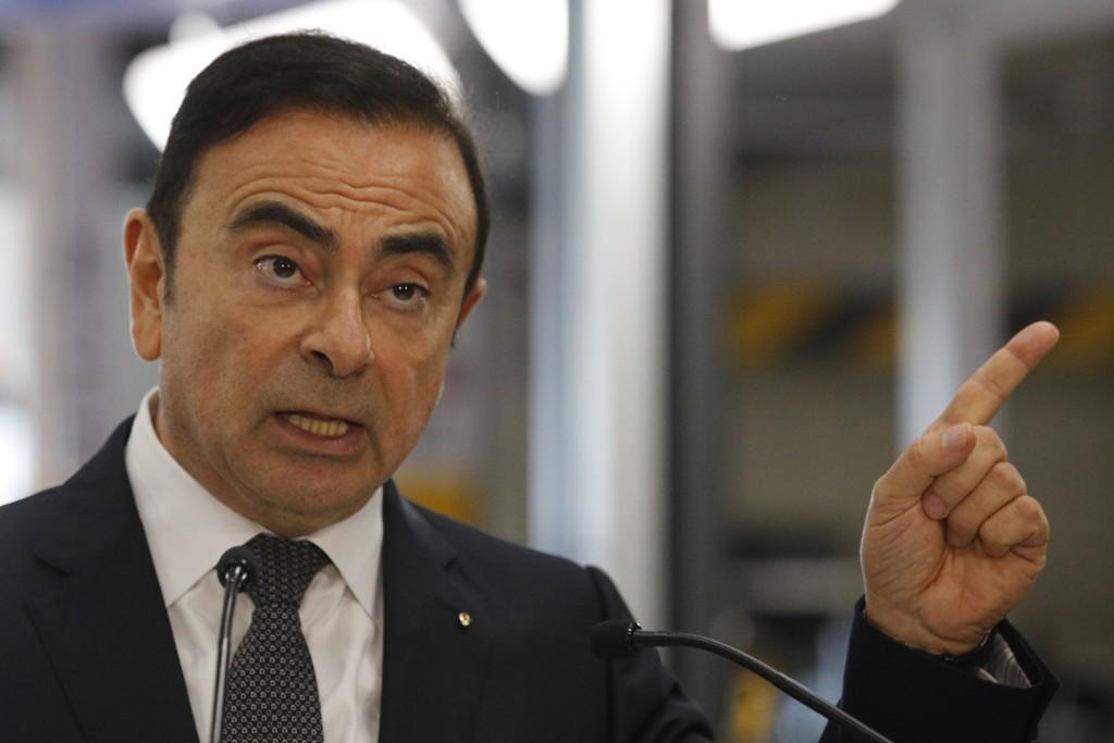 Nissans tidligere styreformann Carlos Ghosn risikerer opptil ti års fengsel. Foto: AP / NTB scanpix