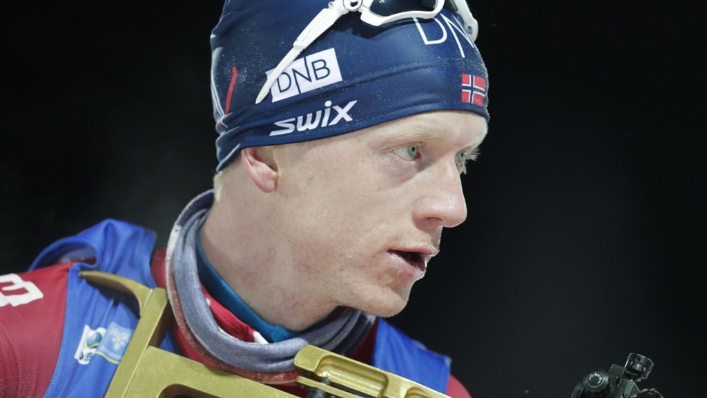 Johannes Thingnes Bø viste voldsom fart i sporet under torsdagens verdenscupåpning på 20 km i Pokljuka.
