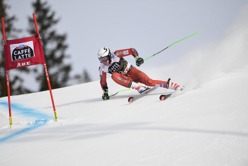 Henrik Kristoffersen får følge av europacupkjørere til helgens renn i Val d'Isère. Foto: Pontus Lundahl /TT / NTB scanpix.
