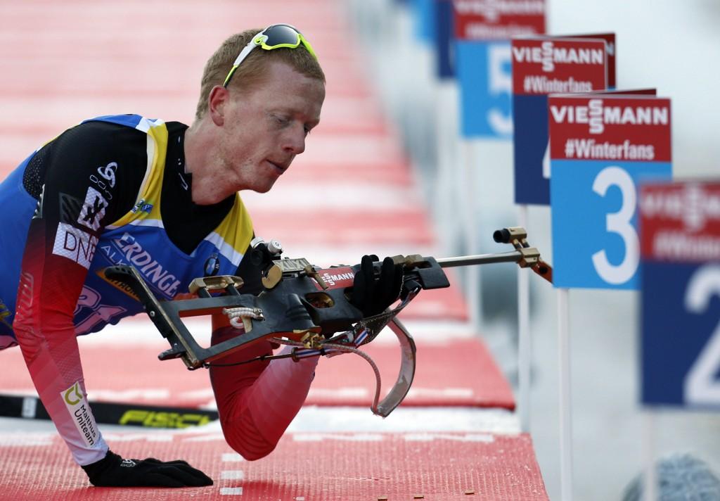 IMPONERTE: Johannes Thingnes Bø imponerte på sprinten i Pokljuka.
