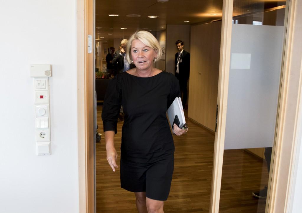 Kommunal- og moderniseringsminister Monica Mæland har avslått å justere grensene mellom flere kommuner. Foto: Vidar Ruud / NTB scanpix