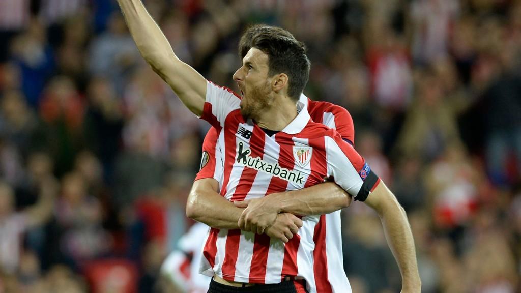 Athletic Bilbao's veteranspiss Aritz Aduriz er faktisk uten seriemål denne sesongen, men scoret fire av målene i dobbeltoppgjørene mot Huesca i Copa del Rey som Bilbao vant 4-0 både hjemme og borte.