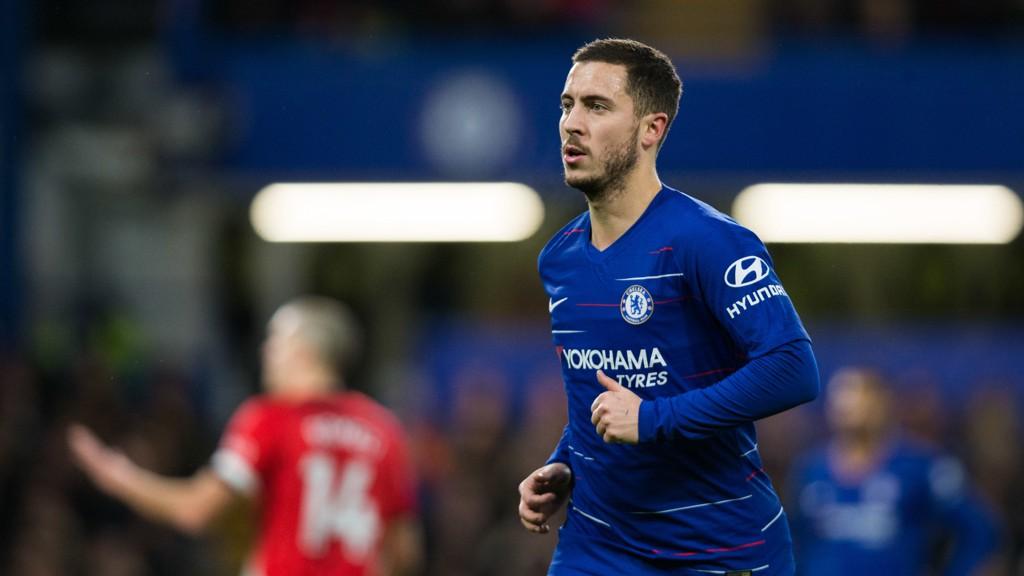 Chelsea og Eden Hazard måtte nøye seg med 0-0 hjemme mot Southampton i forrige seriekamp. Lørdag skal det bli tre poeng hjemme mot Newcastle.