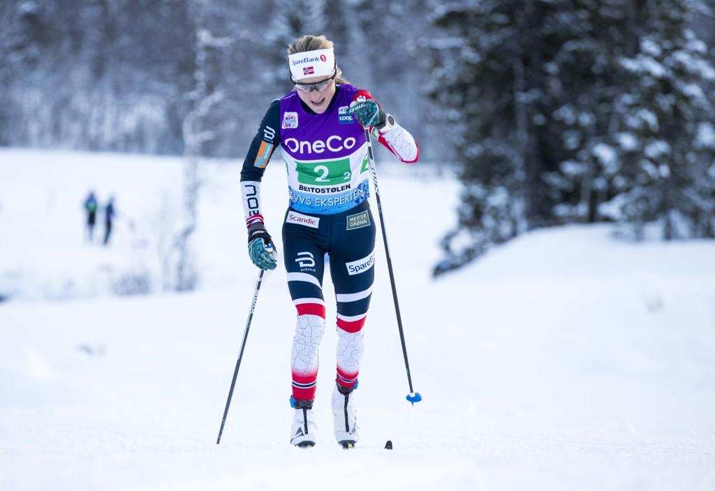 Det knyttes stor spenning til de norske utøverne under VM på ski i Seefeld, kanskje spesielt til Therese Johaug. Foto: Terje Pedersen / NTB scanpix