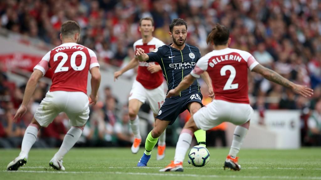 Manchester City ble for sterke for Arsenal i det første oppgjøret. Kan Emery sine gutter ta revansje på Etihad?