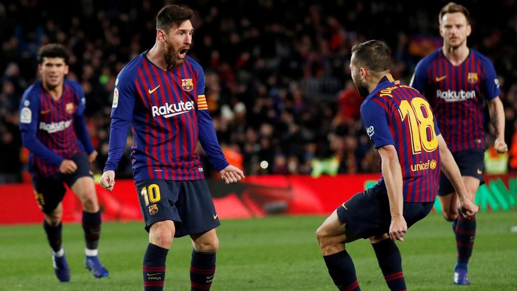 Messi, Alba og Barcelona har fått en hel uke med hvile nå, og dette har gjort godt.