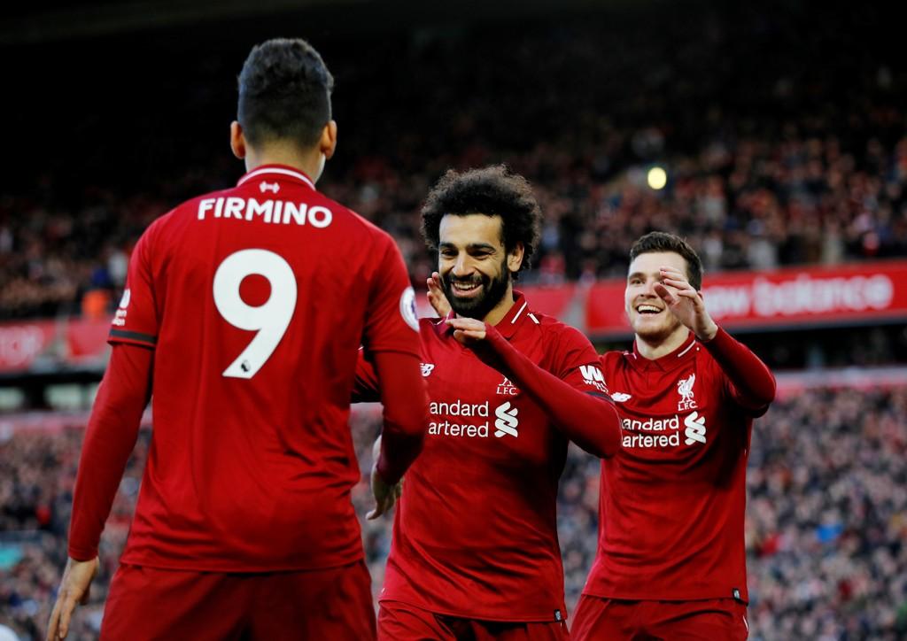 Vi tror Liverpool og Mohamed Salah vinner på hjemmebane.