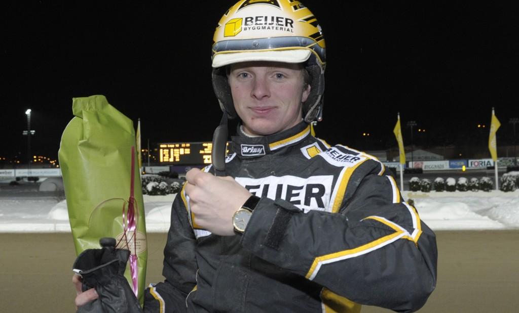 Mattias Djuse er aktuell i dagens V64-omgang.