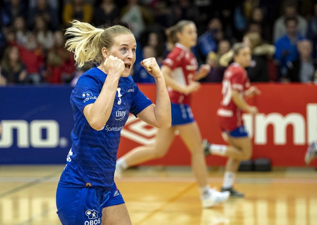 Tertnes og Kristin Nørstebø kan vente seg en knalltøff medaljekamp i Haukelandshallen mot Fredrikstad torsdag.