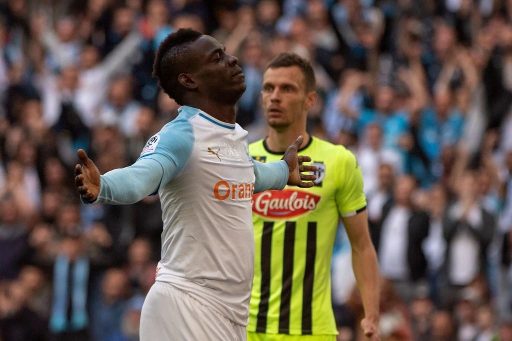 Mario Balotelli har scoret syv mål på ni kamper etter overgangen fra Nice i slutten av januar.