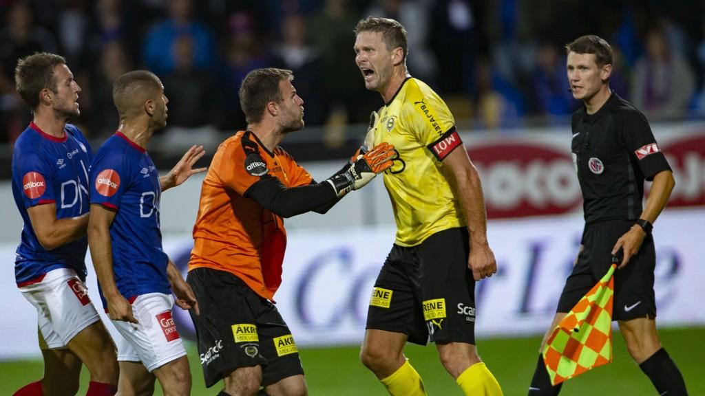 Slik skal det se ut etter et at Vålerenga og Lillestrøm har spilt. Vi gleder oss til derbyet lørdag kveld.