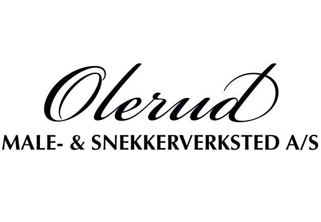 Olerud MALE - & SNEKKERVERKSTED A/S