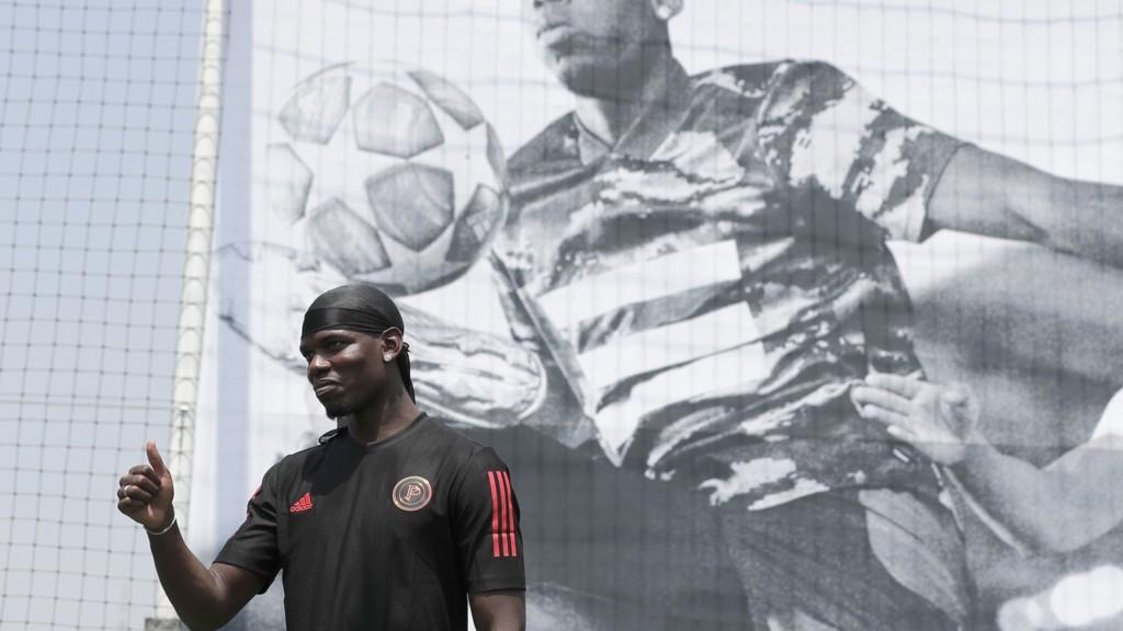 PÅ VEI BORT: Paul Pogba virker å ville forlate Manchester United denne sommeren.